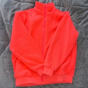 Urban Outfitters Fleece Zip-Up Jacket
